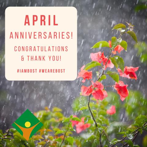 April Anniversaries!