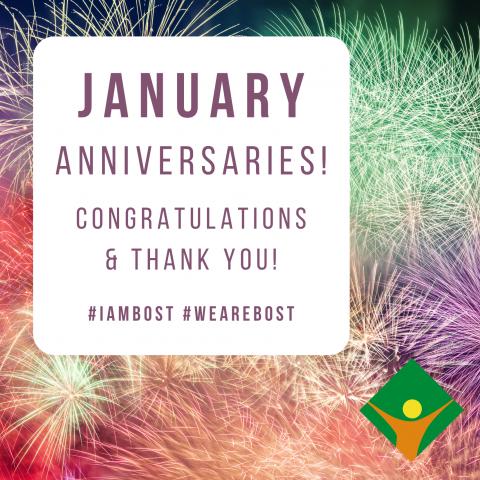 January Anniversaries!
