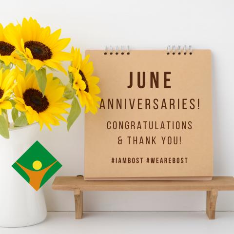 June Anniversaries!