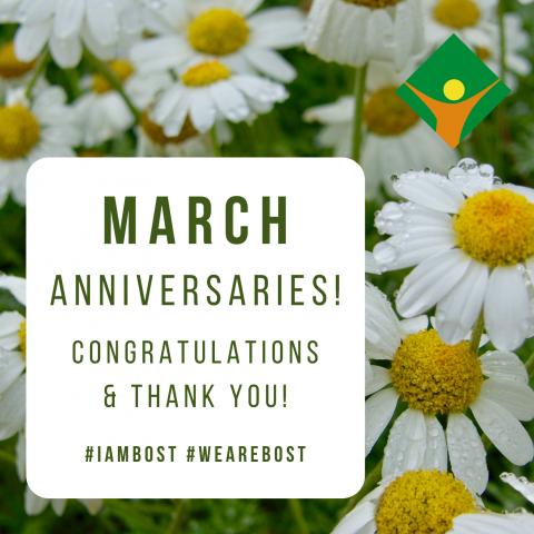 March Anniversaries!