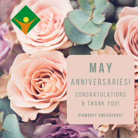 May Anniversaries!