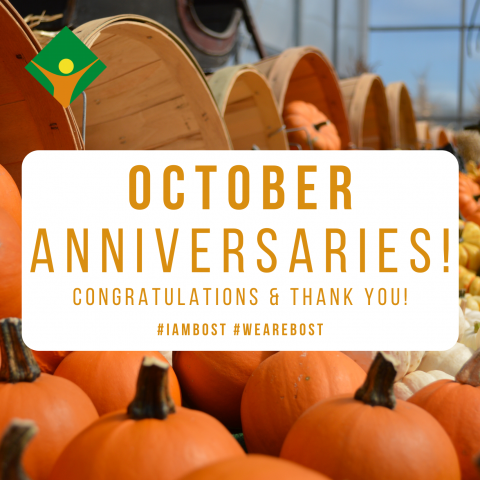 October Anniversaries!